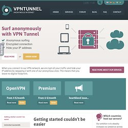 VPN Service - Surf anonymous