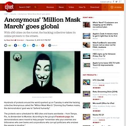 Anonymous' 'Million Mask March' goes global