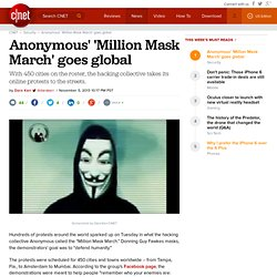 Anonymous' 'Million Mask March' goes global | Security & Privacy