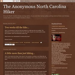 The Anonymous North Carolina Hiker