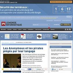 Les Anonymous et les pirates piégés par leur langage