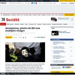 Anonymous, pirates du Net aux multiples visages