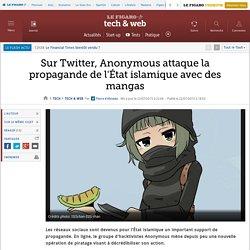 Sur Twitter, Anonymous attaque la propagande de l'État islamique avec des mangas