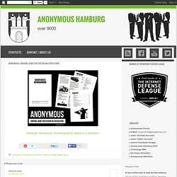 Anonymous: Survival guide for citizens in a revolution