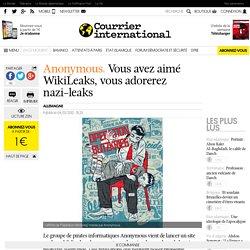 Vous avez aimé WikiLeaks, vous adorerez nazi-leaks