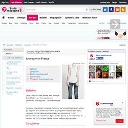Anorexie en France