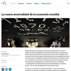 La nueva anormalidad de la economía mundial
