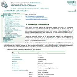 Anormalidades cromosomáticas