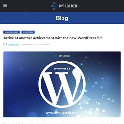 Arrive at another achievement with the new WordPress 5.5
