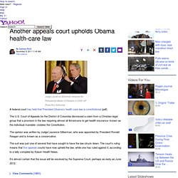 Another appeals court upholds Obama health-care law | The Lookout