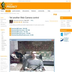 Yet another Web Camera control