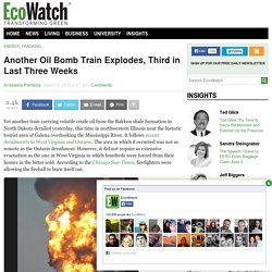 Another Oil Bomb Train Explodes, Third in Last Three Weeks