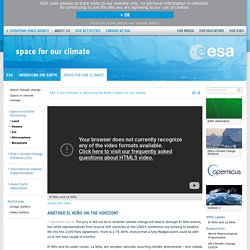 Another El Niño on the horizon? / Space for our climate / Observing the Earth