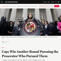 Cops Win Another Round Pursuing the Prosecutor Who Pursued Them