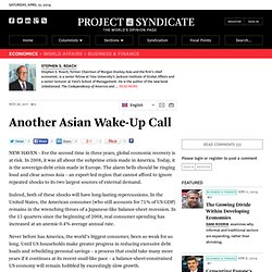Another Asian Wake-Up Call - Stephen S. Roach - Project Syndicate