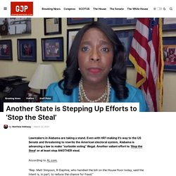 Another State is Stepping Up Efforts to 'Stop the Steal' - GOP Newsfeed