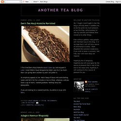 Another Tea Blog