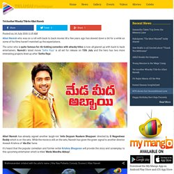 Yet Another Whacky Title for Allari Naresh