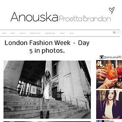 London Fashion Week – Day 5 in photos.