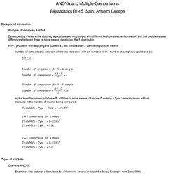 ANOVA Lecture Notes