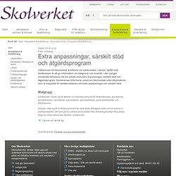 Extra anpassningar, särskilt stöd och åtgärdsprogram (Linköping) 2014-10-22