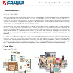 Anriksh Urban Greek most luxurious project booked your flats only in 10 %