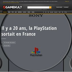 Il y a 20 ans, la PlayStation sortait en France