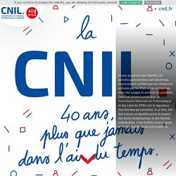 40 ans au service des libertés - CNIL 40 ans