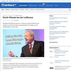Die Born-Ansage (20) - Streik-Mikado bei der Lufthansa - airliners.de