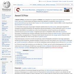Ansari X Prize