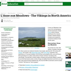 L'Anse aux Meadows Viking Settlement Info