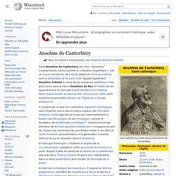 Anselme de Cantorbéry