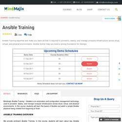 Ansible Online Training With Live Projects