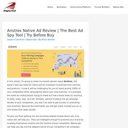 Anstrex Native Ad Review