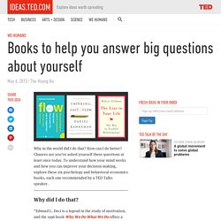 Books to help you answer big questions about yourself