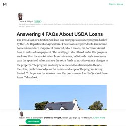 Answering 4 FAQs About USDA Loans