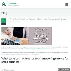 Answering Services for Small Business