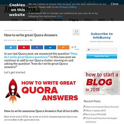 Write great Quora answers if you want to SKYROCKET your sites traffic