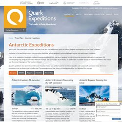 Antarctic | Quark Expeditions