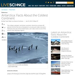 Antarctica: Facts About the Coldest Continent