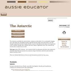 The Antarctic | Antarctica | Exploration
