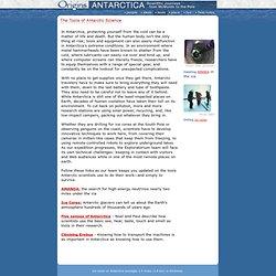 Origins: Antarctica: Tools