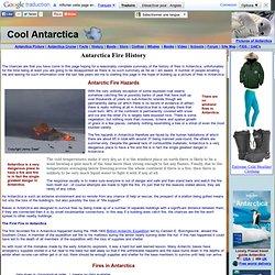 Antarctica Fire History