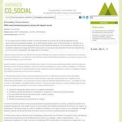 Antares Co_Social - SROI como herramienta para el cálculo del impacto social