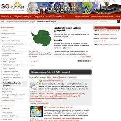 Världsdelar och länder - geografi