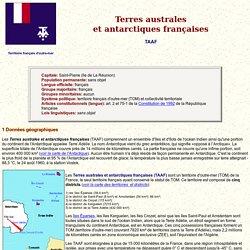 Terres australes et antarticques françaises