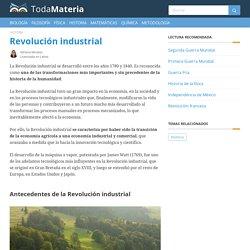 Qué es la Revolución industrial: antecedentes, desarrollo y consecuencias - Toda Materia