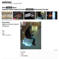 Antenna: Projects > Installation