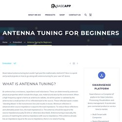Antenna Tuning for Beginners
