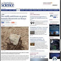 Des outils antérieurs au genre humain découverts au Kenya